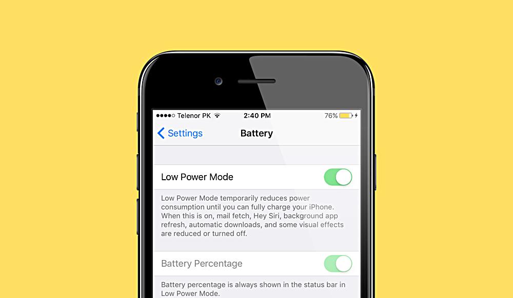 Chế độ Nguồn điện thấp là giải pháp tiết kiệm pin tốt nhất cho iPhone