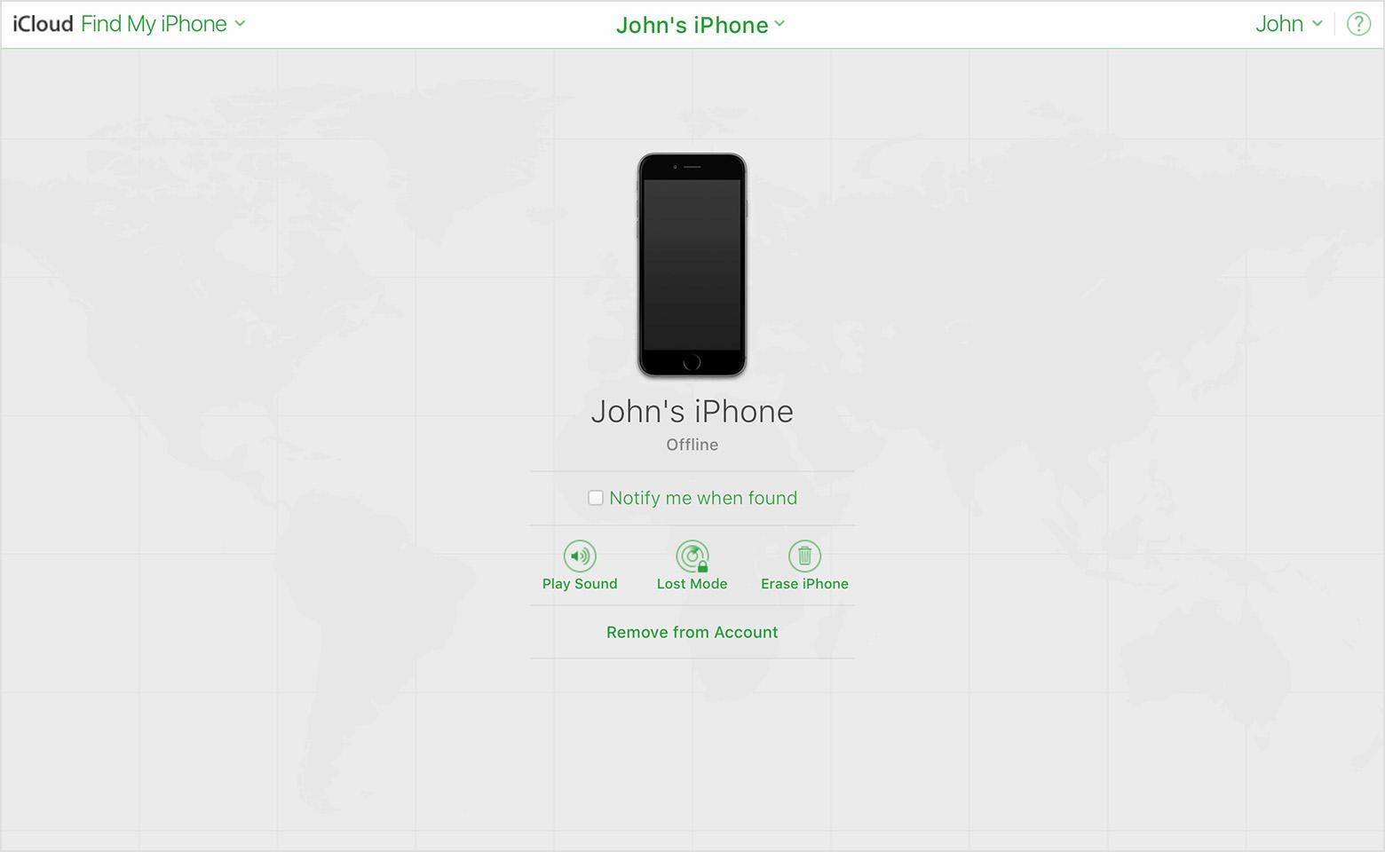 Khôi phục iPhone X từ iCloud