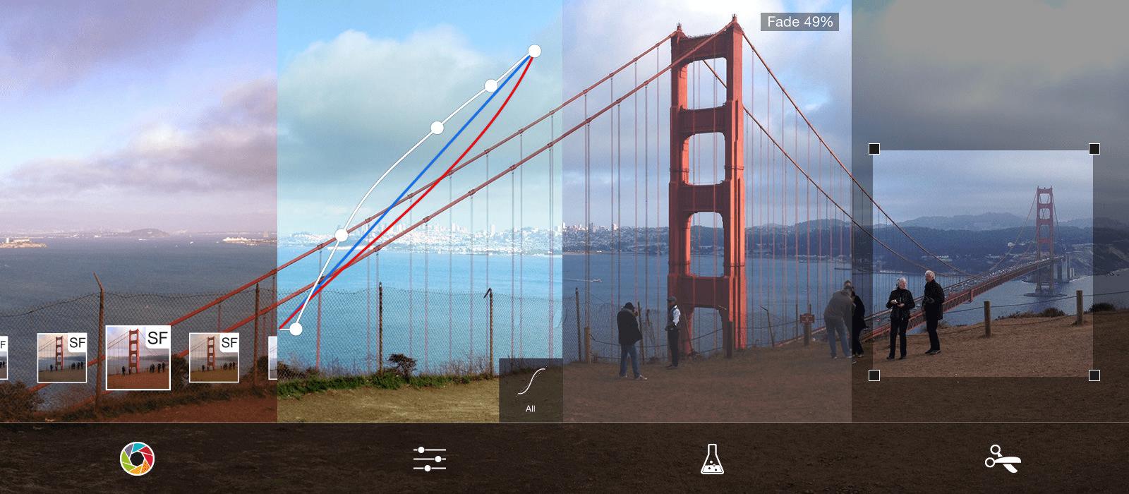 ProCamera nhận được đánh giá của người dùng trên App Store là 4.7/5