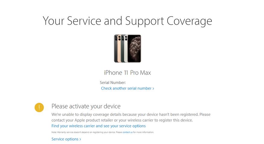 Thông báo Please activate your iPhone hiện lên tức là iPhone 11 bị trả bảo hành