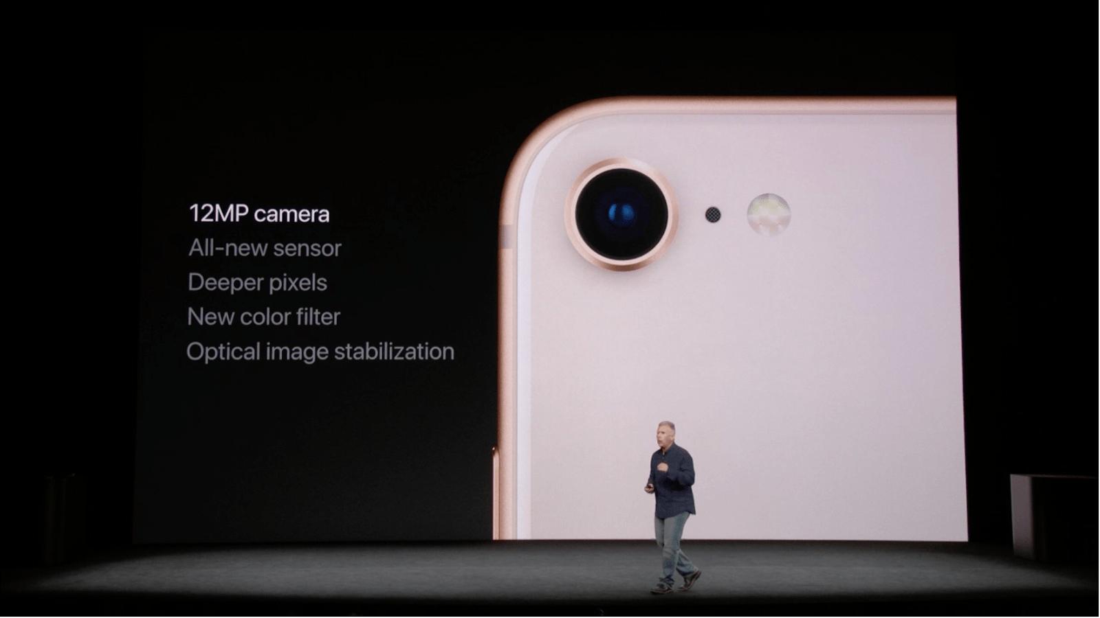 Camera iPhone 8 8 Plus cho hình ảnh và video tốt hơn