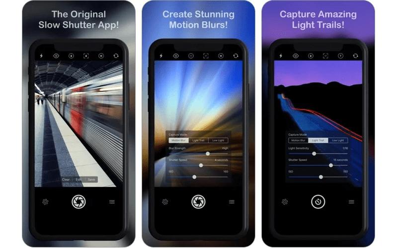 Slow Shutter Cam nhận được đánh giá của người dùng trên App Store là 4.4/5