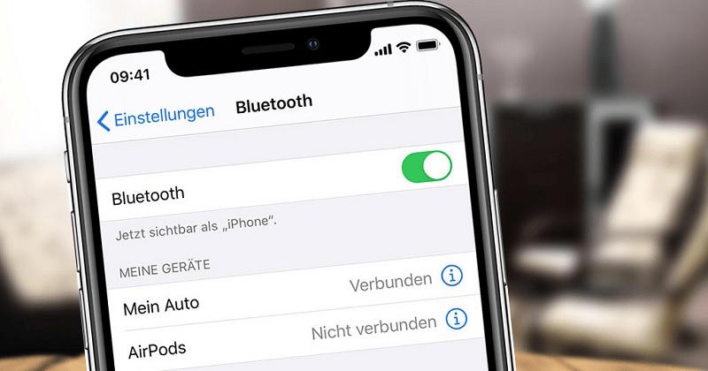 Hướng dẫn gửi hình ảnh, video qua Bluetooth iPhone X