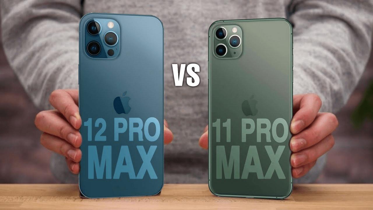 iPhone 12 Pro Max có kích thước lớn hơn iPhone 11 Pro Max