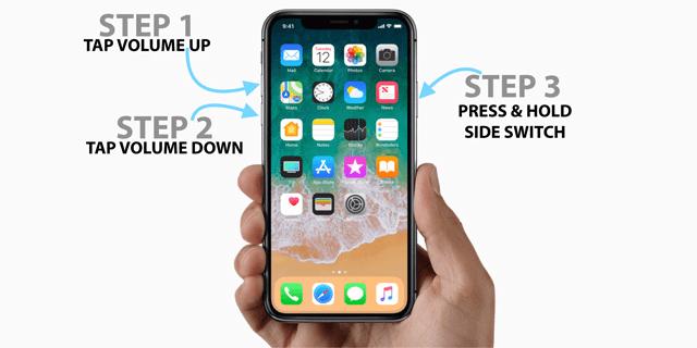 Buộc khởi động lại iPhone (Force-restart)