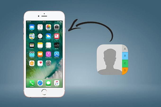 Hướng dẫn cách khôi phục lại danh bạ, liên hệ đã xóa trên iPhone 6, 6s, 6plus, 6s plus