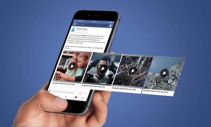 Tự động phát sẽ tạo sự bất ngờ cho mỗi lần truy cập Facebook