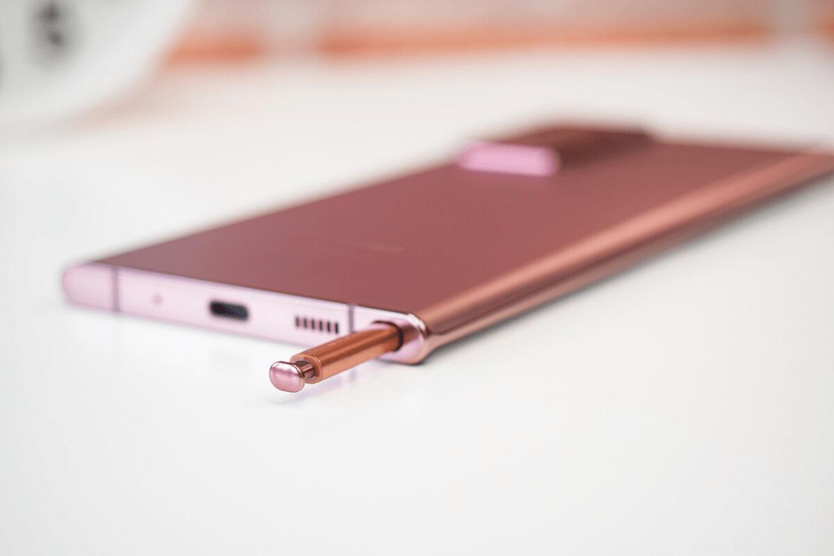Sử dụng S Pen của Galaxy Note 20 để chụp ảnh từ xa