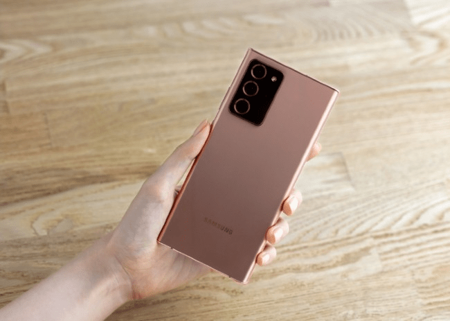 Giới thiệu về camera Galaxy Note 20