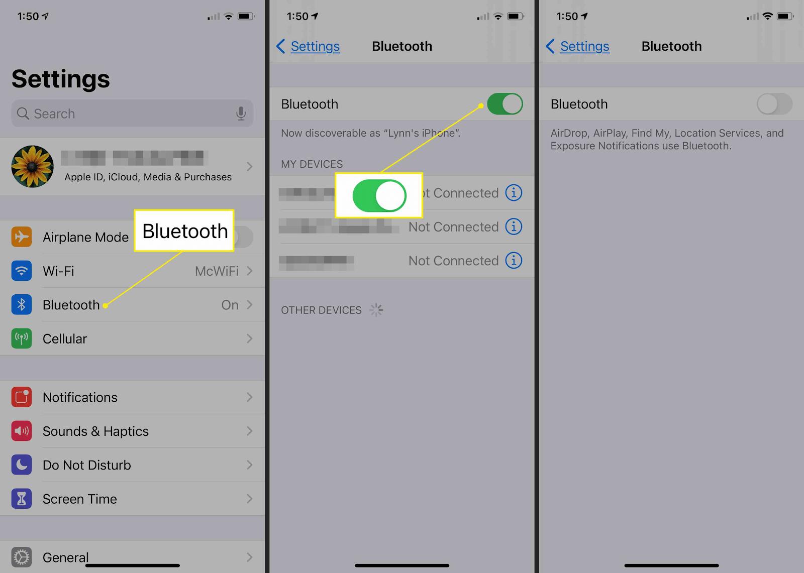 Tắt Bluetooth để tăng tốc độ sạc cho iPhone X