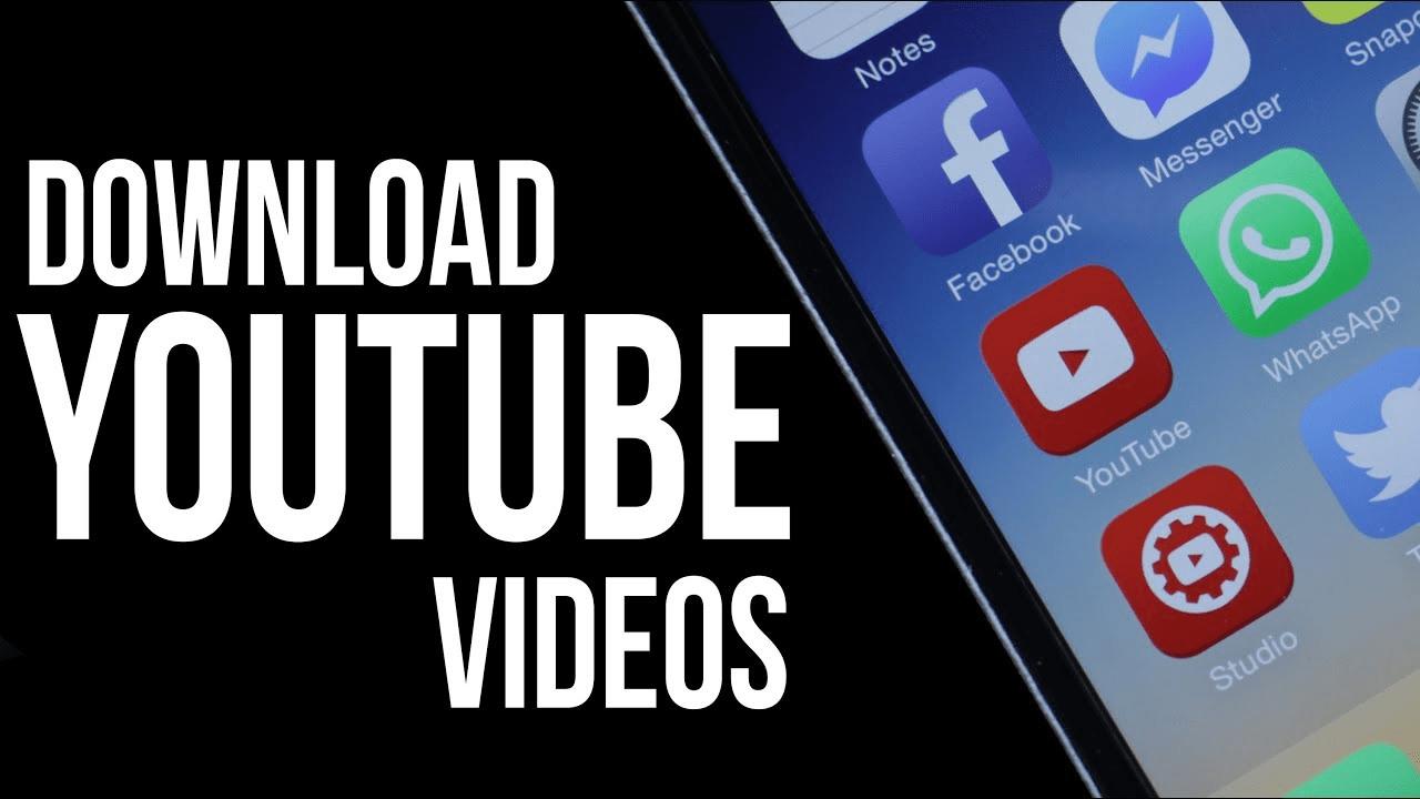 Hướng dẫn tải video YouTube về iPhone 8, 8+, Pro Max cực kỳ đơn giản