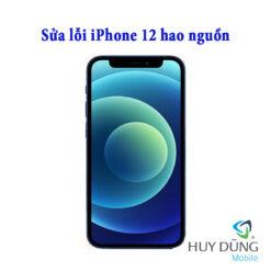 Sửa hao nguồn iPhone 12