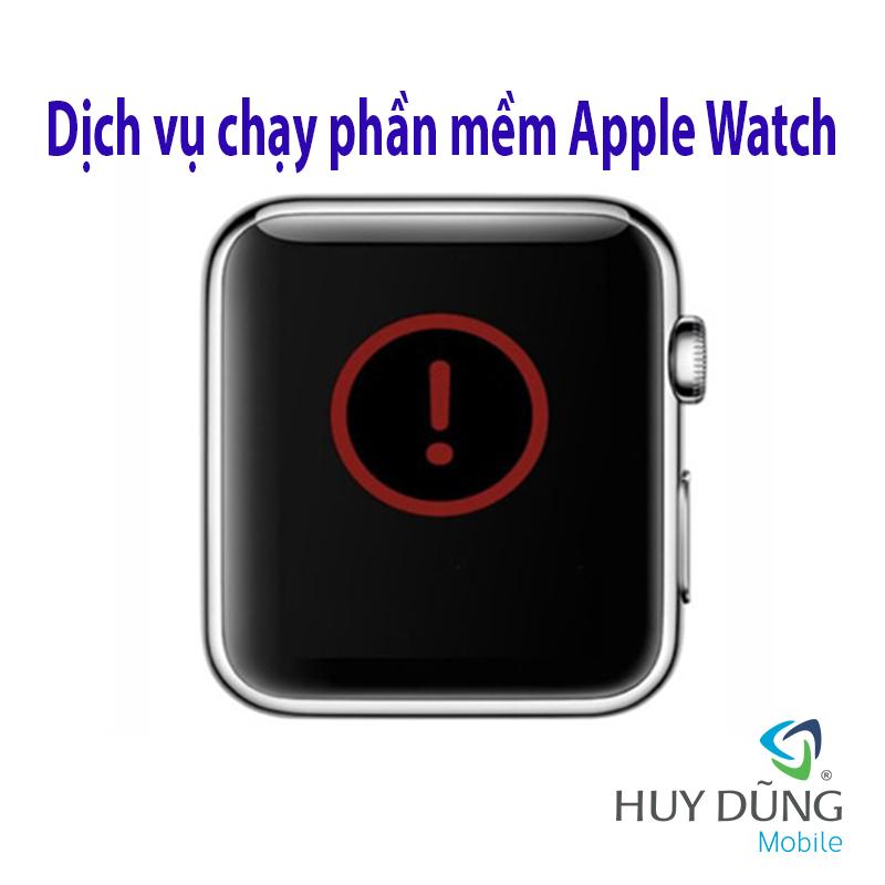 chạy phần mềm Apple Watch