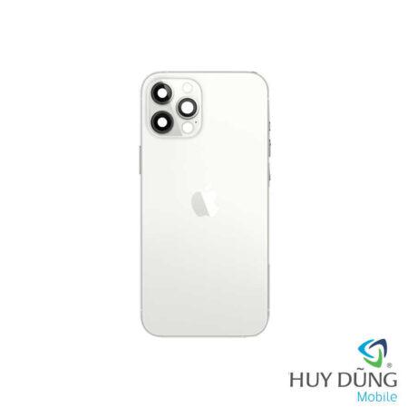 Độ vỏ iPhone X lên iPhone 12 Pro vàng trắng
