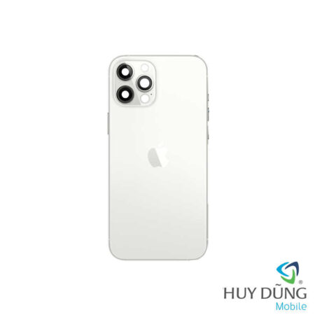 Độ vỏ iPhone Xs Max lên iPhone 12 Pro Max trắng