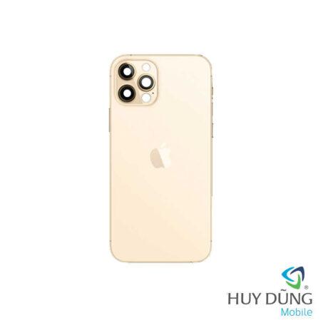 Độ vỏ iPhone Xs Max lên iPhone 12 Pro Max vàng