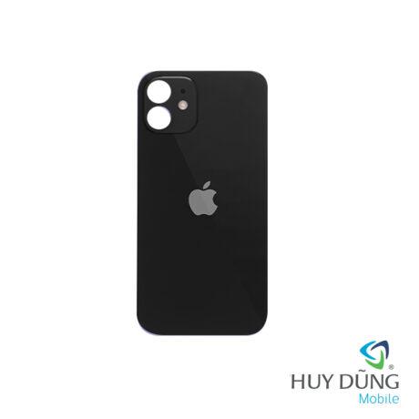 thay Kính Lưng Vỏ Độ iPhone X lên 12 đen