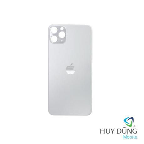 thay Kính Lưng Vỏ Độ iPhone X lên 12 Pro trắng