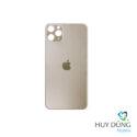 thay Kính Lưng Vỏ Độ iPhone X lên 12 Pro vàng