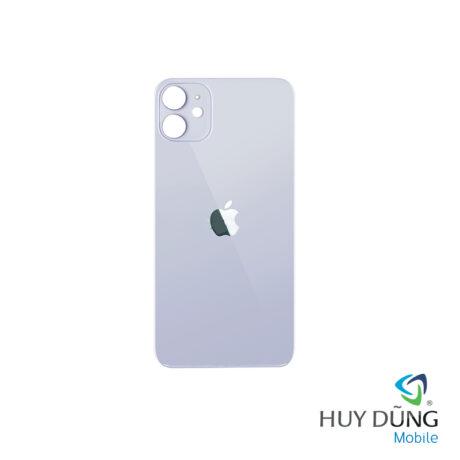 thay Kính Lưng Vỏ Độ iPhone Xr lên 12 trắng