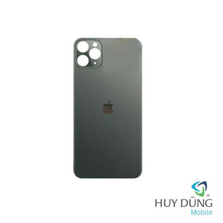 Thay Kính Lưng Vỏ Độ iPhone Xs Max lên 12 Pro Max xanh