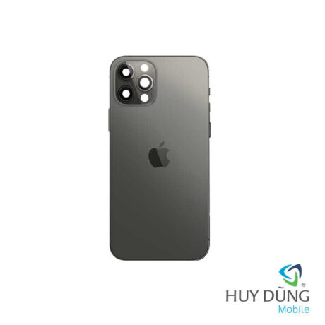 Thay vỏ iPhone 12 Pro Max đen